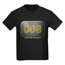Yankee 009 Kids Black T-Shirt