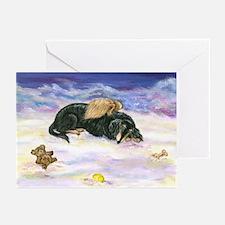 LHBT Dox Angel Sympathy Greeting Cards (Pk of 10)