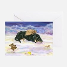 LHBT Dox Angel Sympathy Greeting Card