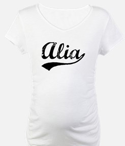 Vintage Alia (Black) Shirt