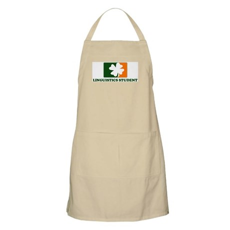 Irish LINGUISTICS STUDENT BBQ Apron