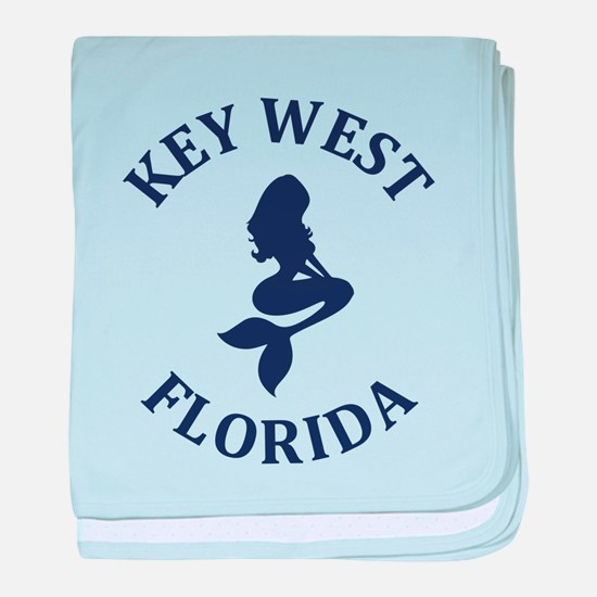Summer key west- florida baby blanket