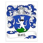 Katz Family Crest Small Poster