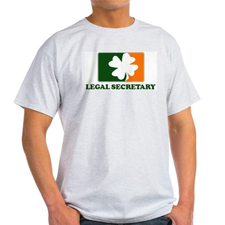 Irish LEGAL SECRETARY Light T-Shirt