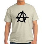 Anarchy Symbol Light T-Shirt