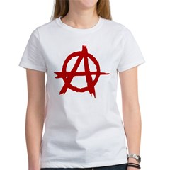 Anarchy Symbol Women's T-Shirt