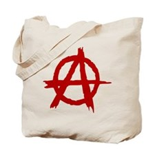 Anarchy Symbol Tote Bag