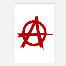 Anarchy Symbol Postcards (Package of 8)