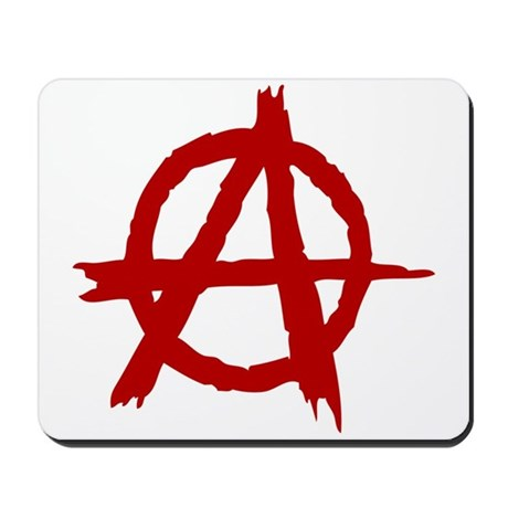 Anarchy Symbol Mousepad