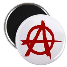 "Anarchy Symbol 2.25"" Magnet (100 pack)"