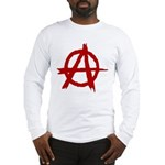 Anarchy Symbol Long Sleeve T-Shirt