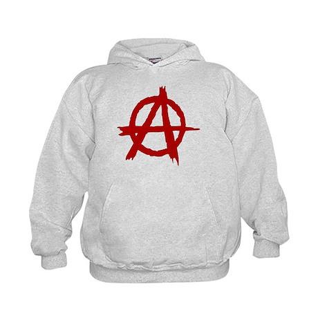 Anarchy Symbol Kids Hoodie