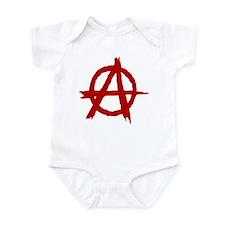 Anarchy Symbol Infant Bodysuit