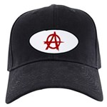 Anarchy Symbol Black Cap