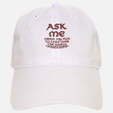 Take Over the World Joke Baseball Baseball Cap