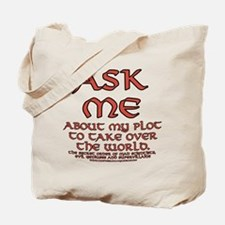 Take Over the World Joke Tote Bag