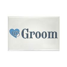 Groom II Rectangle Magnet