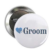 "Groom II 2.25"" Button"
