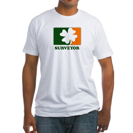Irish SURVEYOR Fitted T-Shirt