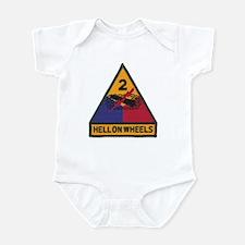 2ND ARMORED DIVISION Infant Bodysuit