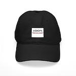 100 Percent Trichologist Black Cap