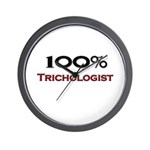 100 Percent Trichologist Wall Clock