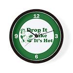 Drop It Like It's Hot Wall Clock
