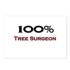 100 Percent Tree Surgeon Postcards (Package of 8)