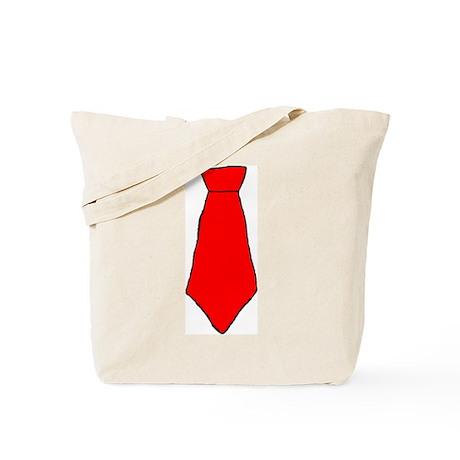 Red tie Tote Bag