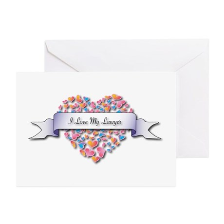 Love My Lawyer Greeting Cards (Pk of 20)
