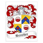 Kessler Family Crest Small Poster
