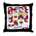Kessler Family Crest Throw Pillow