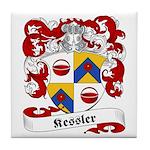 Kessler Family Crest Tile Coaster