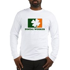 Irish POSTAL WORKER Long Sleeve T-Shirt