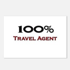 100 Percent Travel Agent Postcards (Package of 8)