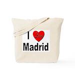 I Love Madrid Spain Tote Bag