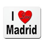 I Love Madrid Spain Mousepad
