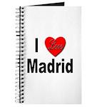 I Love Madrid Spain Journal