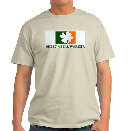 Irish SHEET METAL WORKER Light T-Shirt
