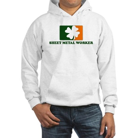 Irish SHEET METAL WORKER Hooded Sweatshirt