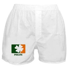 Irish PIRATE Boxer Shorts