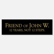 12 Years Bumper Bumper Bumper Sticker