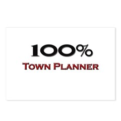 100 Percent Town Planner Postcards (Package of 8)