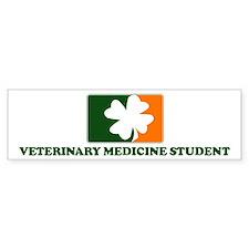 Irish VETERINARY MEDICINE STU Bumper Bumper Sticker
