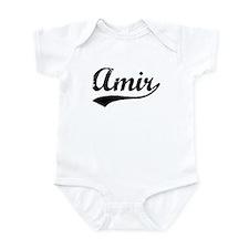 Vintage Amir (Black) Infant Bodysuit