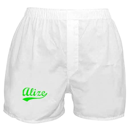 Vintage Alize (Green) Boxer Shorts