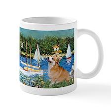Monet's Sailboats Small Mug