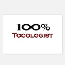 100 Percent Tocologist Postcards (Package of 8)