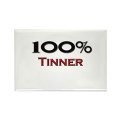 100 Percent Tinner Rectangle Magnet (10 pack)
