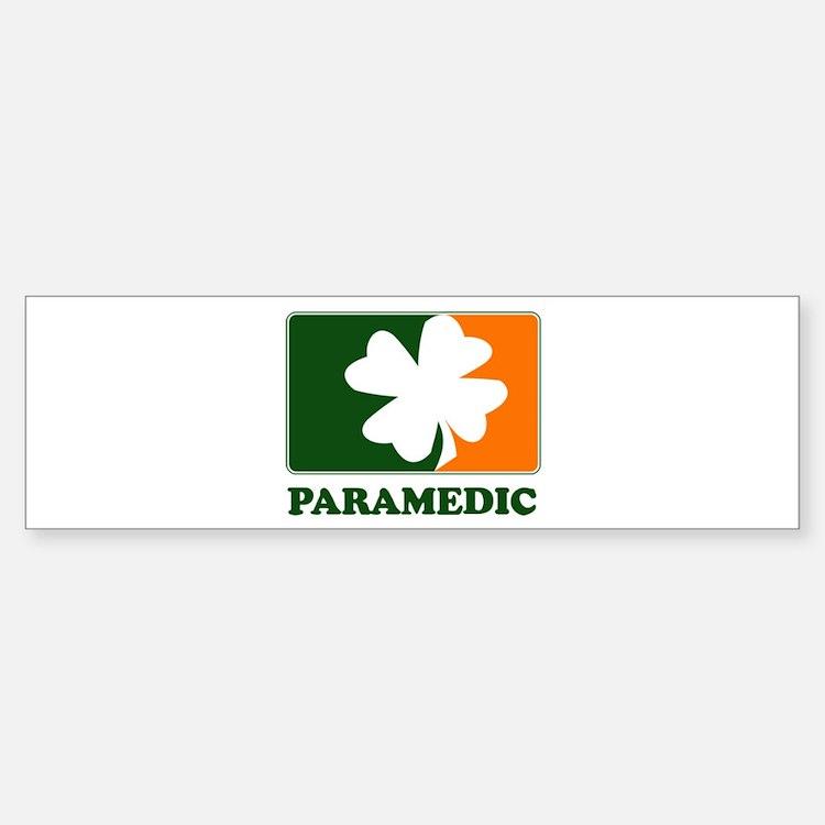 Irish PARAMEDIC Bumper Bumper Bumper Sticker